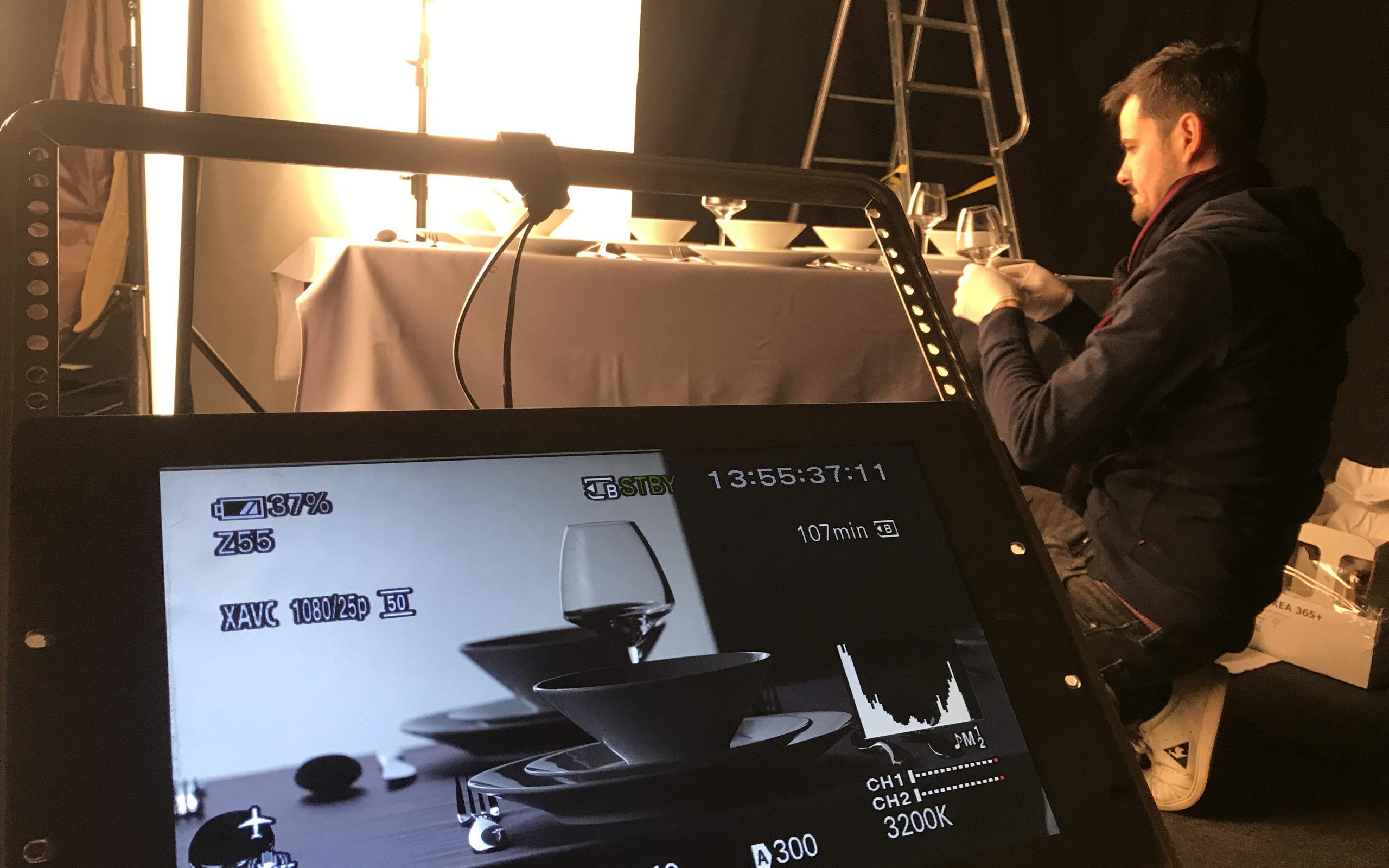 Teaser Medias - studio vidéo - Tournage Lit Up