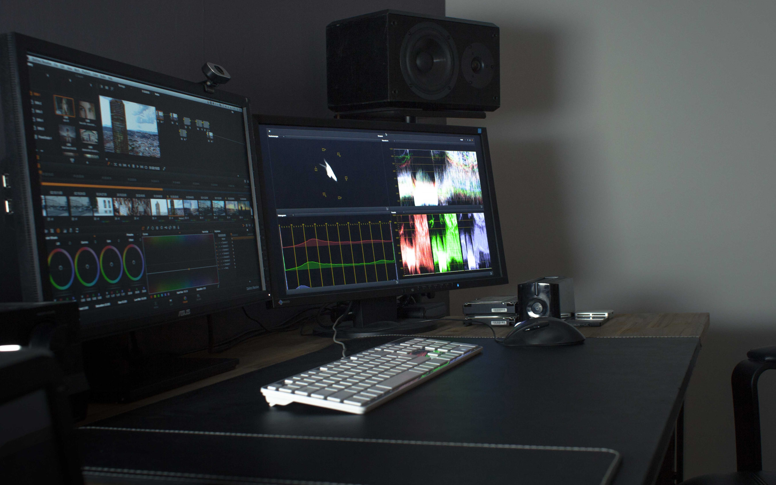 Teaser medias - studio post-production